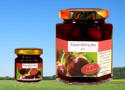 Bild zu: Sauerkirsche mit Fruchtstücken