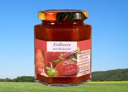 Bild zu: Erdbeere mit Rhabarber und echter Vanille