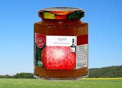 Bild zu: Apfel mit Calvados